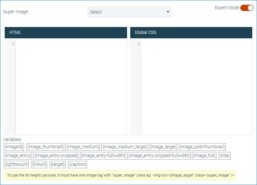 Super Carousel - Responsive Wordpress Plugin   Documentation